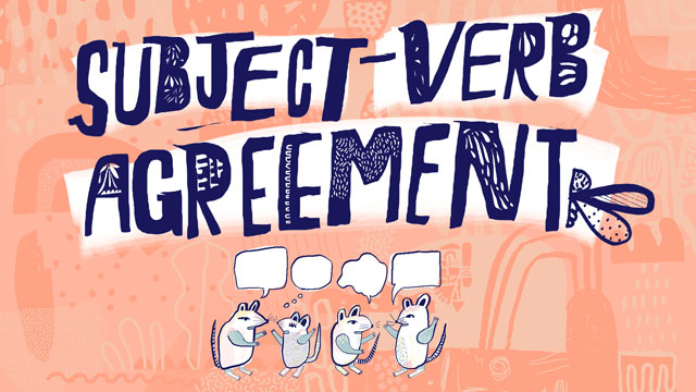 Subject Verb Agreement Subject Verb Agreement Rules Grammar
